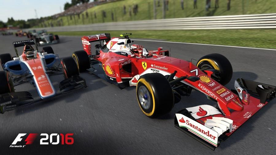 F1 2016 Hungary Grand Prix Haas Ferrari Hungaroring race