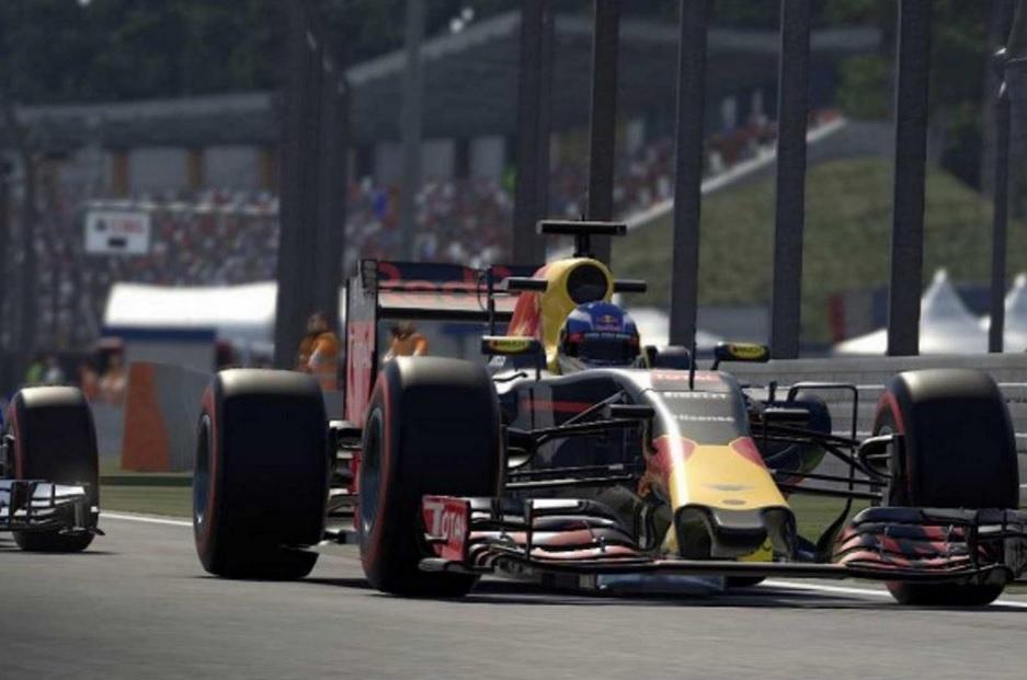 F1 2016 Red Bull Formula One car