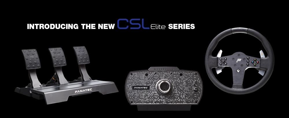 Fanatec CSL Elite range