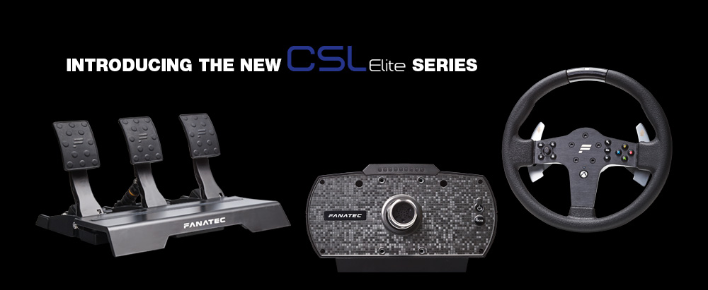 fanatec reveal their new csl elite range for xbox one and. Black Bedroom Furniture Sets. Home Design Ideas