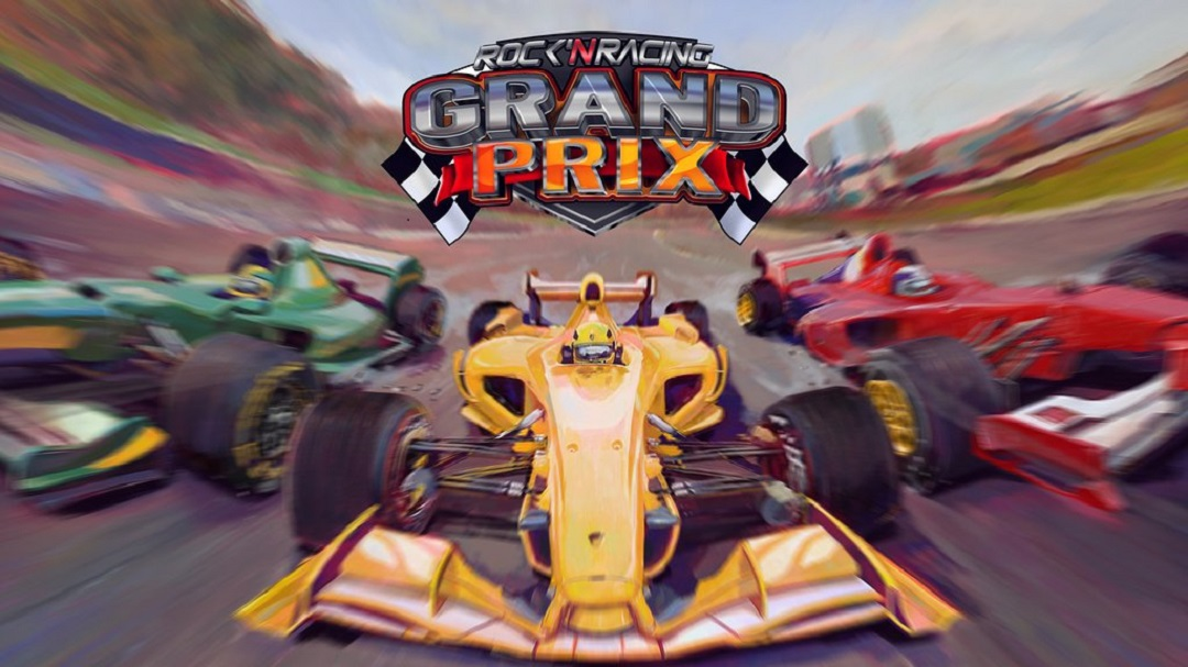 Grand Prix Rock 'N Racing main art Xbox One