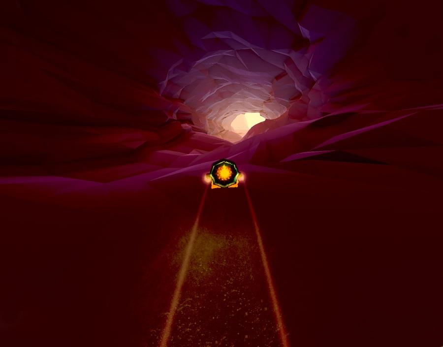 Smugglecraft cave hovercraft racer indie racing game happy badger studios gameplay screenshot