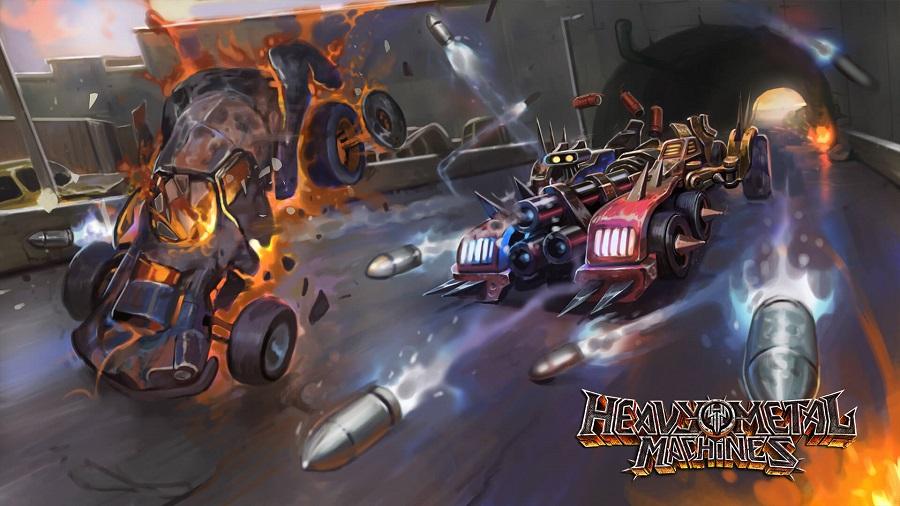 Heavy Metal Machines online multiplayer free to play main art