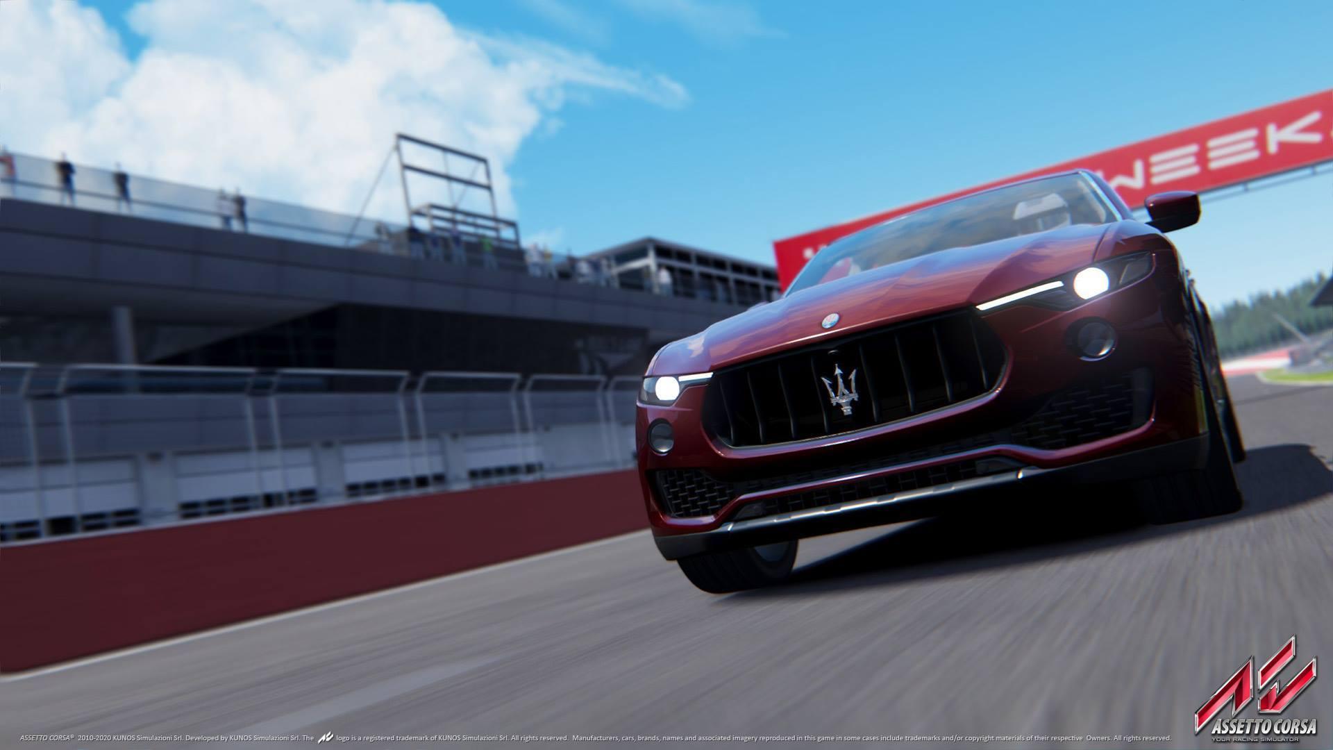 Assetto Corsa Maserati Levante S 1.03 update