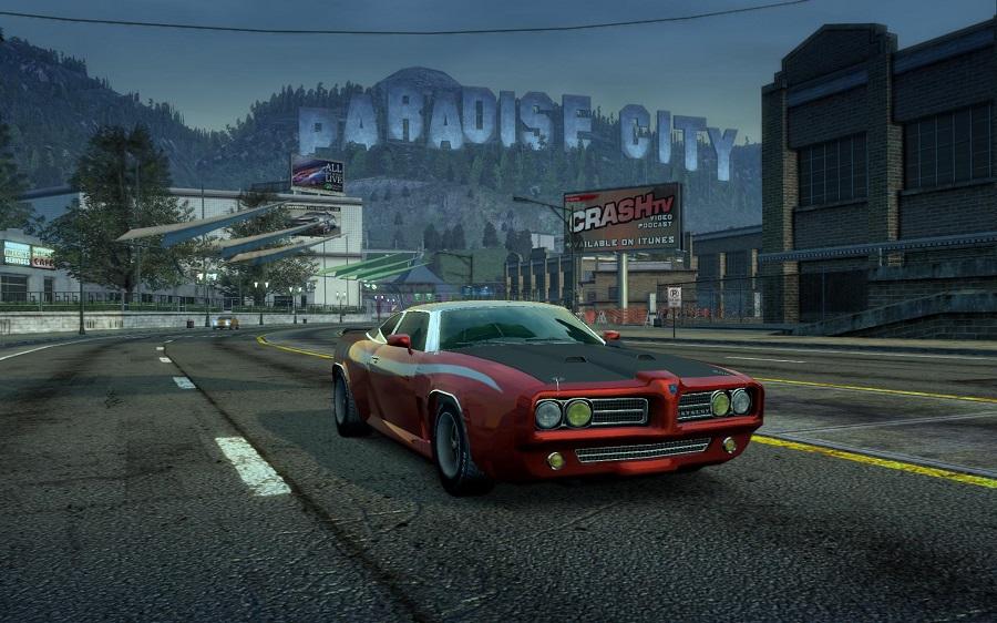 burnout paradise muscle car paradise city