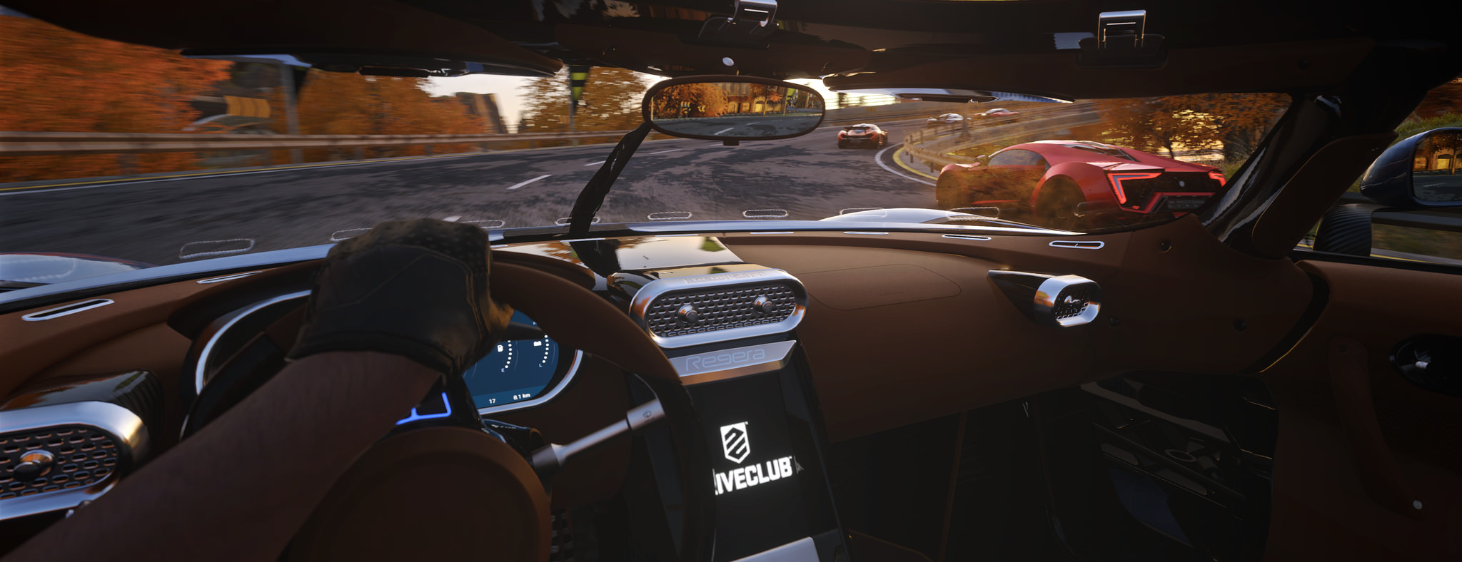 DriveClub VR interior screenshot