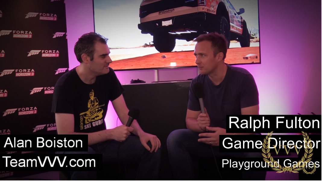 Forza Horizon 3 interview with Ralph Fulton