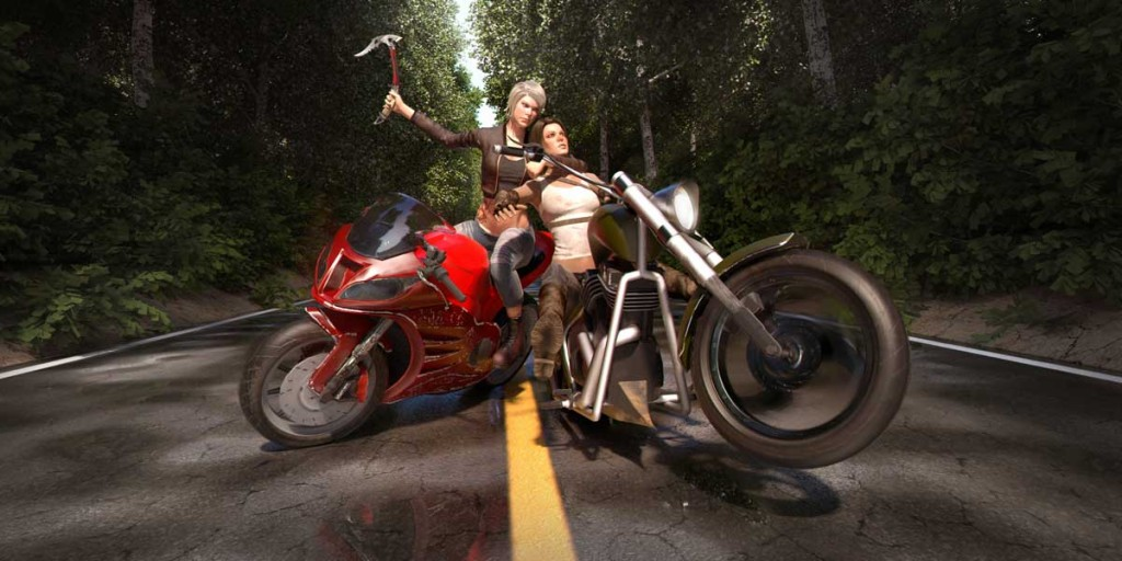 Road Rage is bringing Road Rash-style bike combat to