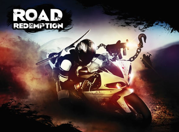 Road Redemption bike game road rash inspired spiritual successor art wallpaper