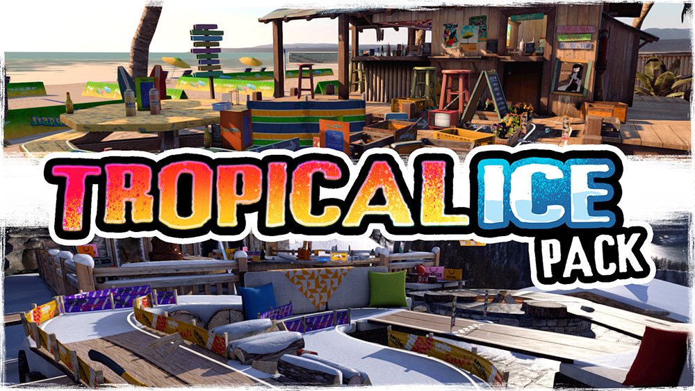Table Top Racing: World Tour Tropical Ice Pack DLC