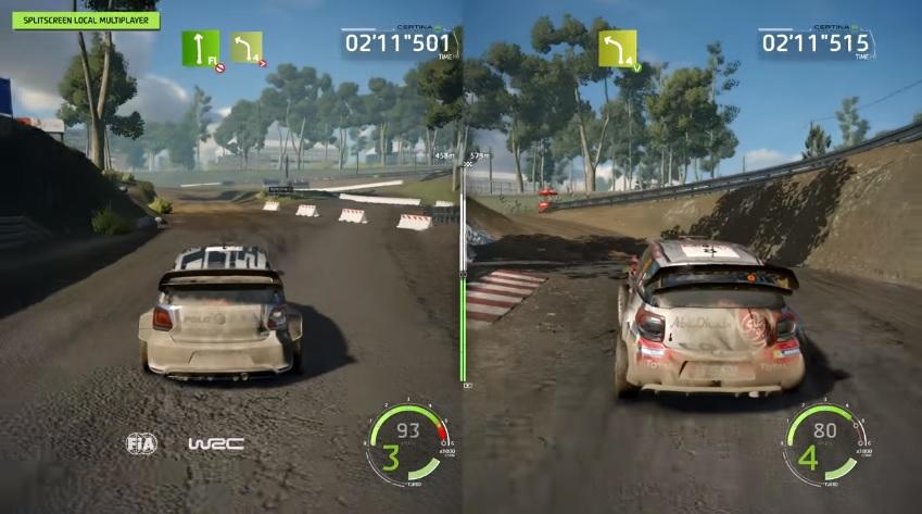 Split Screen Multiplayer Mode Showcased In Latest WRC 6 Video Team VVV