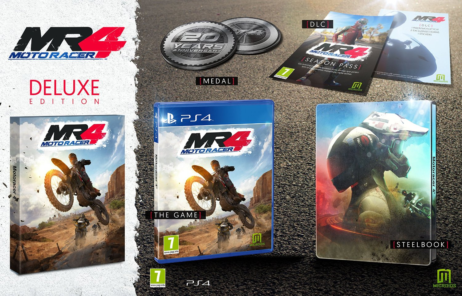 Moto Racer 4 Deluxe Edition includes season pass and steelbook