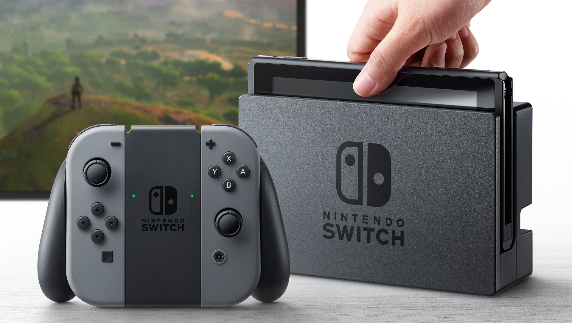 Nintendo reveals their new Switch console