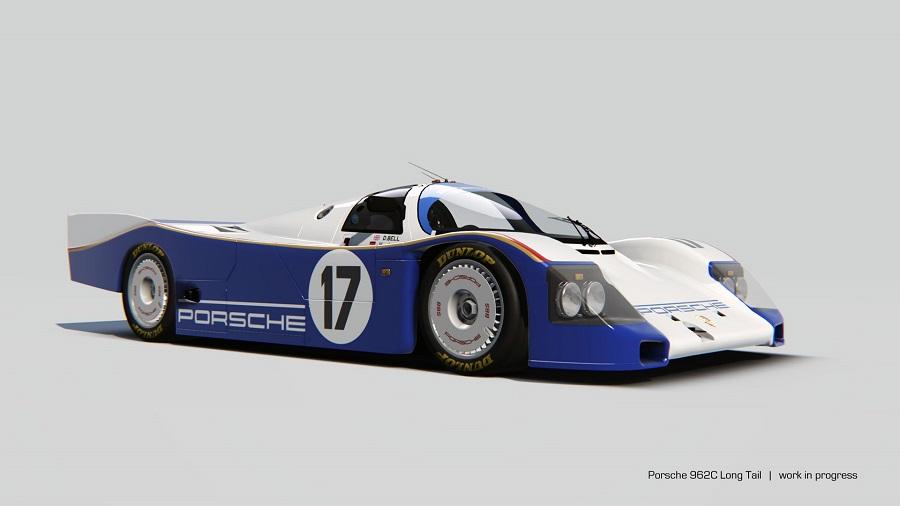 Porsche 962c Long Tail Assetto Corsa Porsche pack volume 2 render