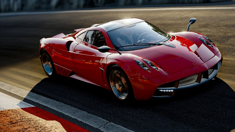 Project CARS pagani zonda red
