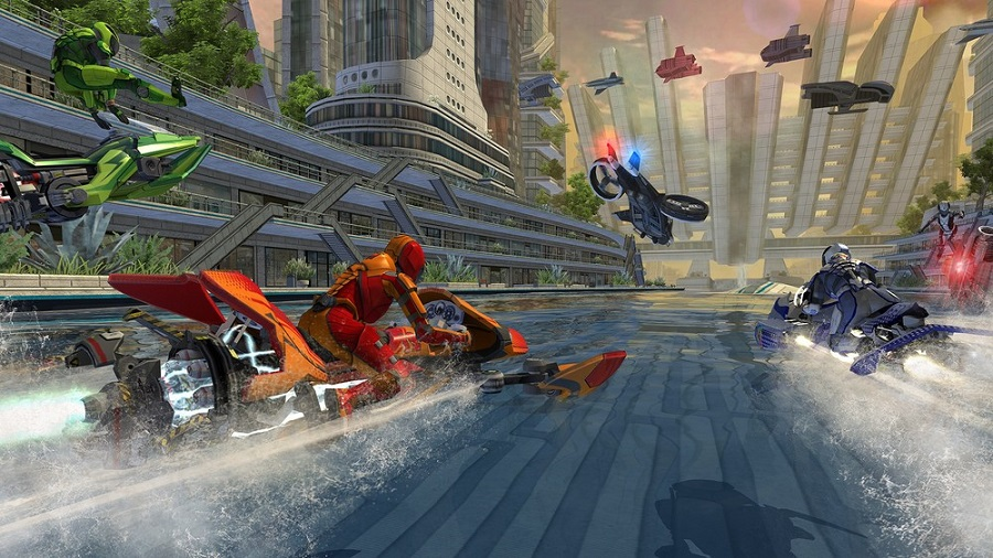 riptide gp renegade ramp jump tricks race