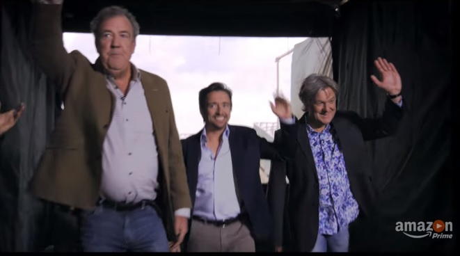Latest trailer for The Grand Tour is full of the usual chaos