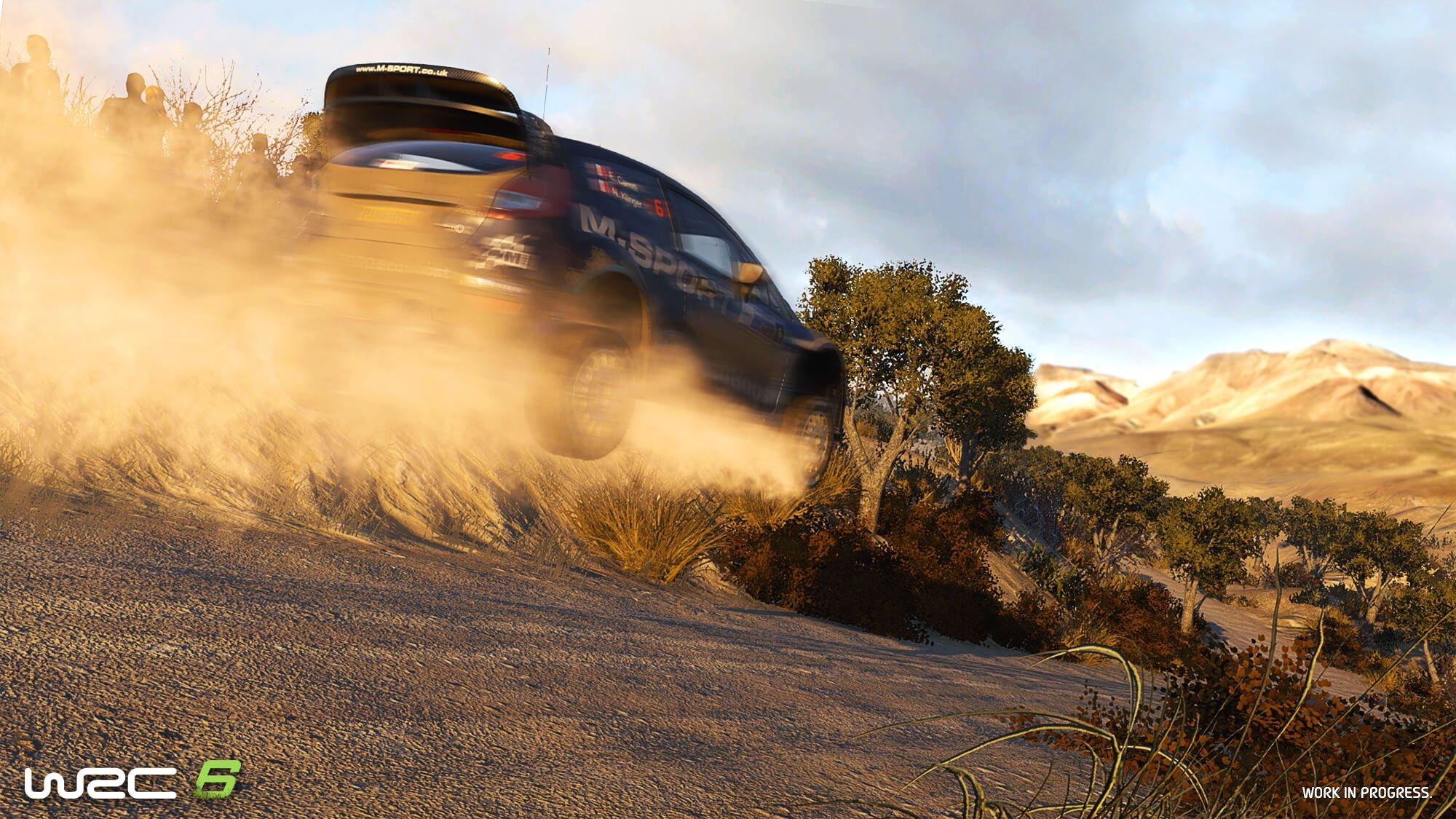 WRC 6 jump screenshot