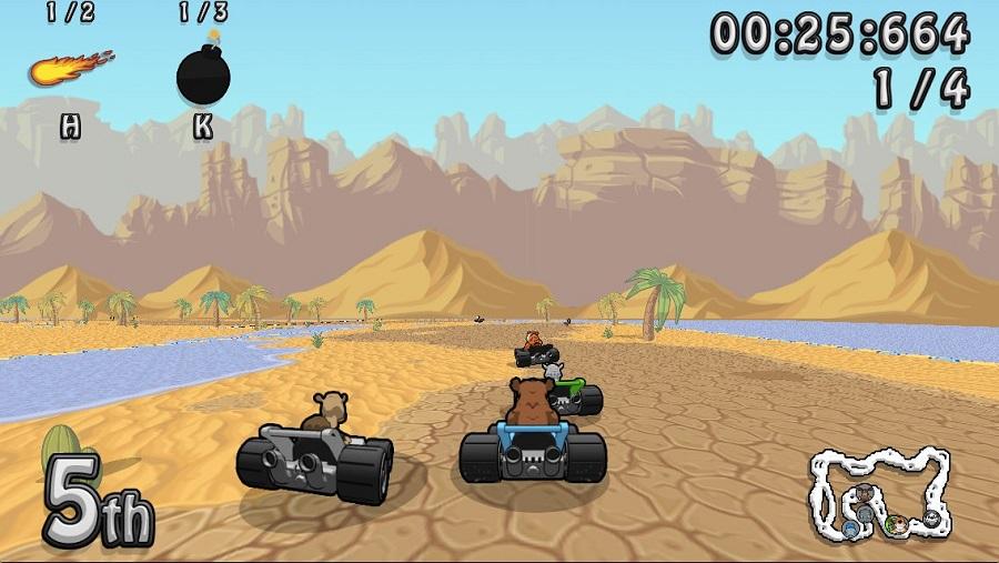 wacky wheels hd beach sand desert race
