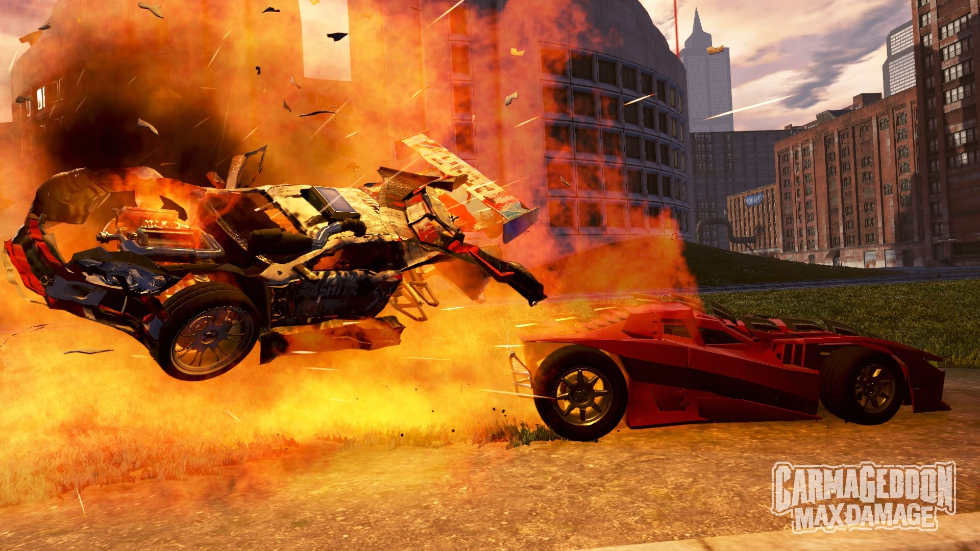 Carmageddon Max Damage explosion screenshot