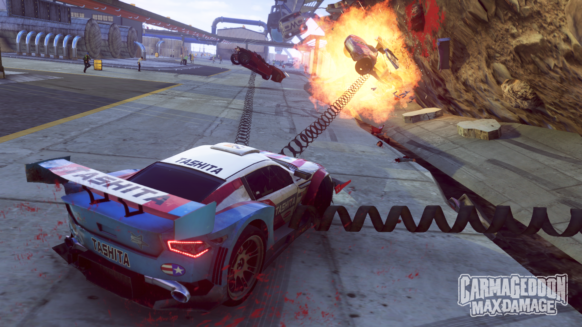 Carmageddon Max Damage powerups screenshot