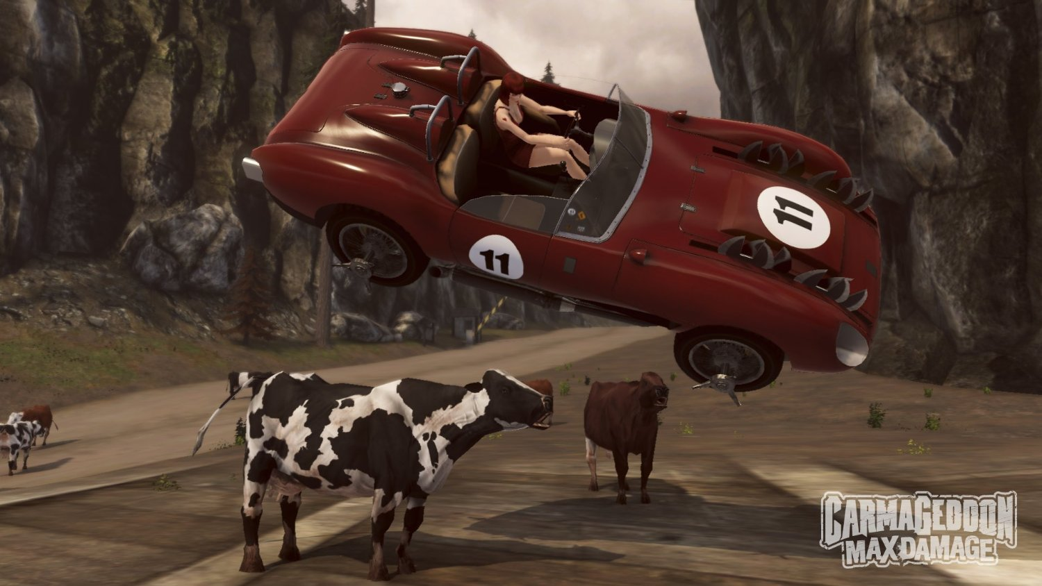 Carmageddon Max Damage screenshot convertible