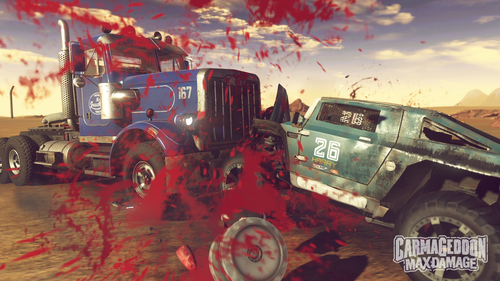 Carmageddon Max Damage screenshot pedestrian massacre