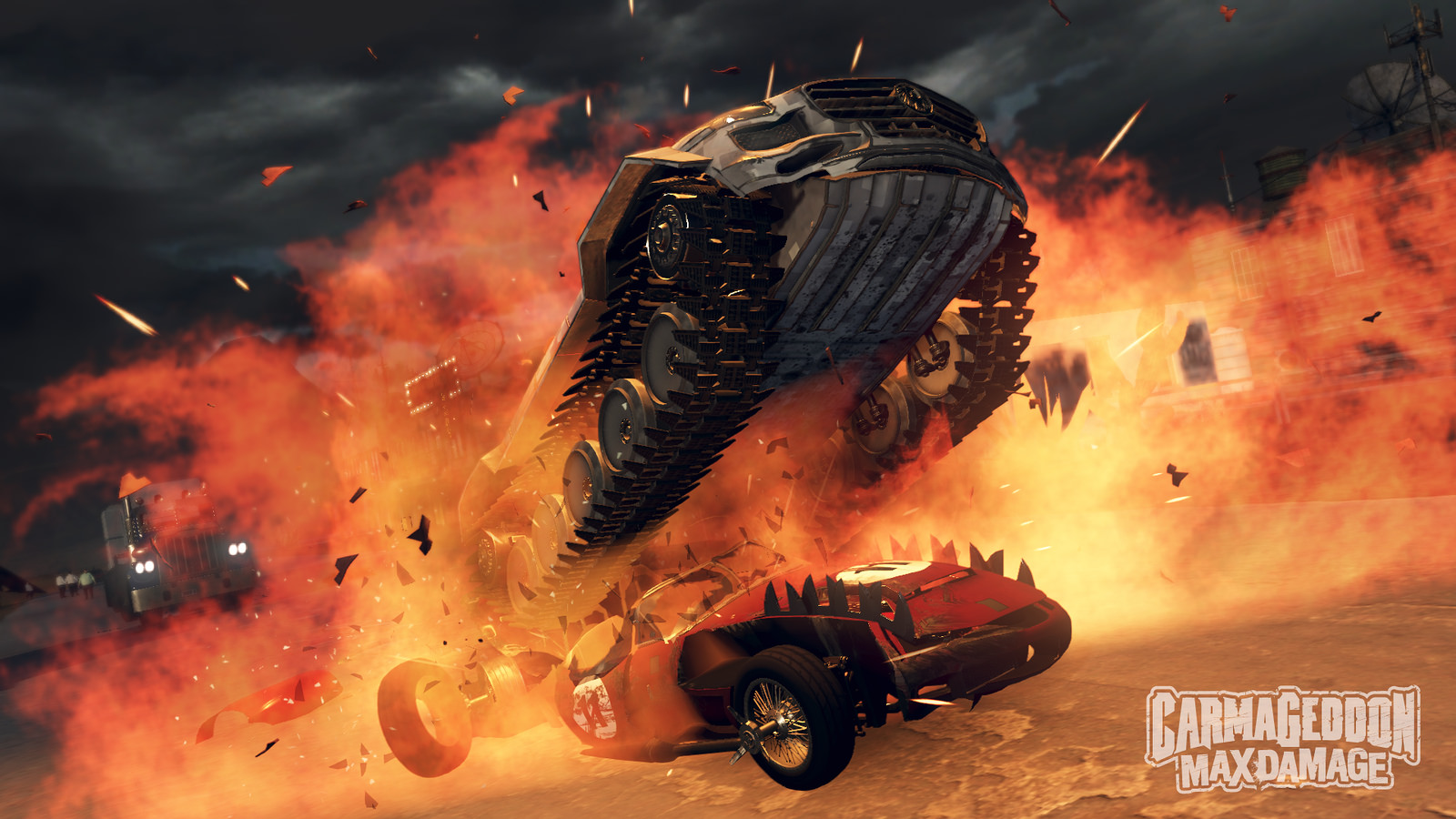 Carmageddon Max Damage screenshot explosion