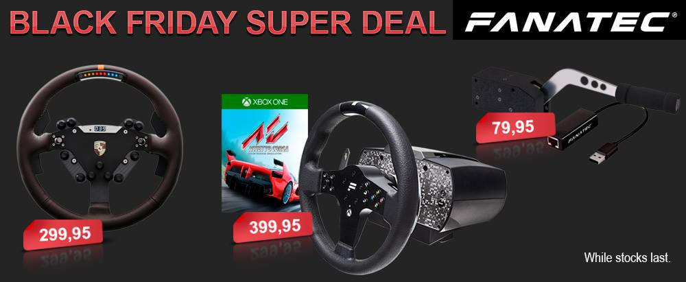 The best UK Black Friday 2016 racing game deals