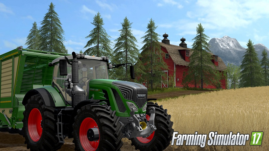 farming simulator 17 giants software home interactive tractor on farm