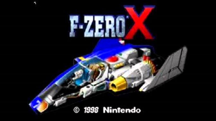 f zero x n64 nintendo wii u eshop title screen