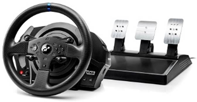 Thrustmaster T300RS GT Edition wheel and 3 pedal set