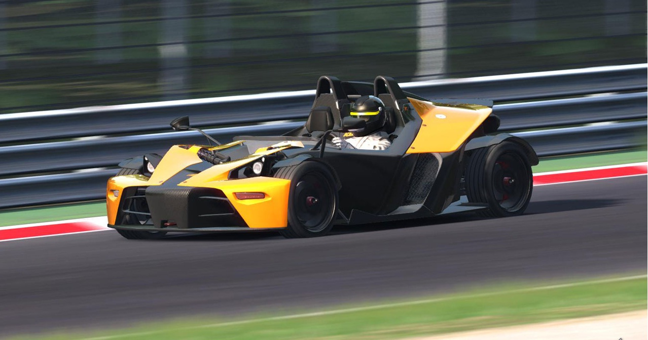 KTM X-Bow R makes its game debut in Assetto Corsa