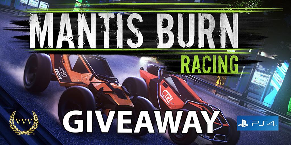 Mantis Burn Racing giveaway