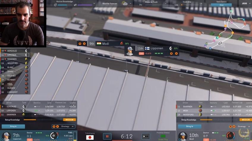 Motorsport Manager Test