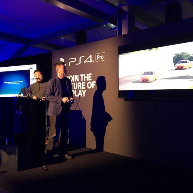 Gran Turismo Sport PS4 Pro event