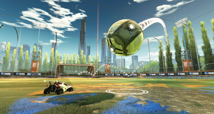 Customisable training coming to Rocket League