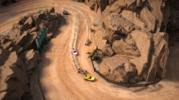 Mantis Burn Racing desert environment