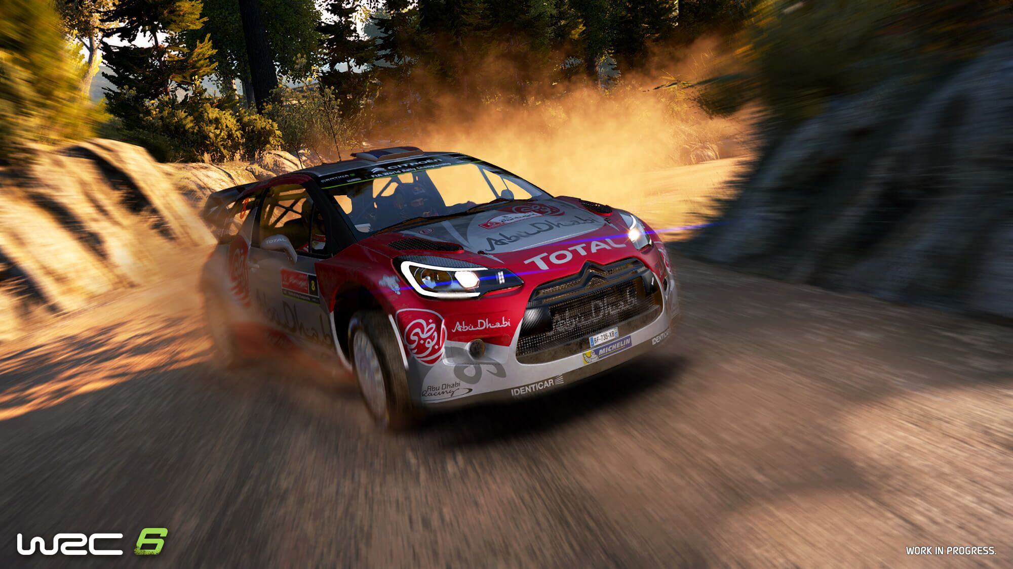 WRC 6 screenshot Citroen DS3