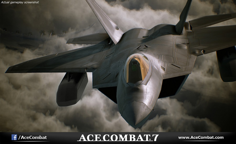 ace combat 7 first screenshots fighter jet