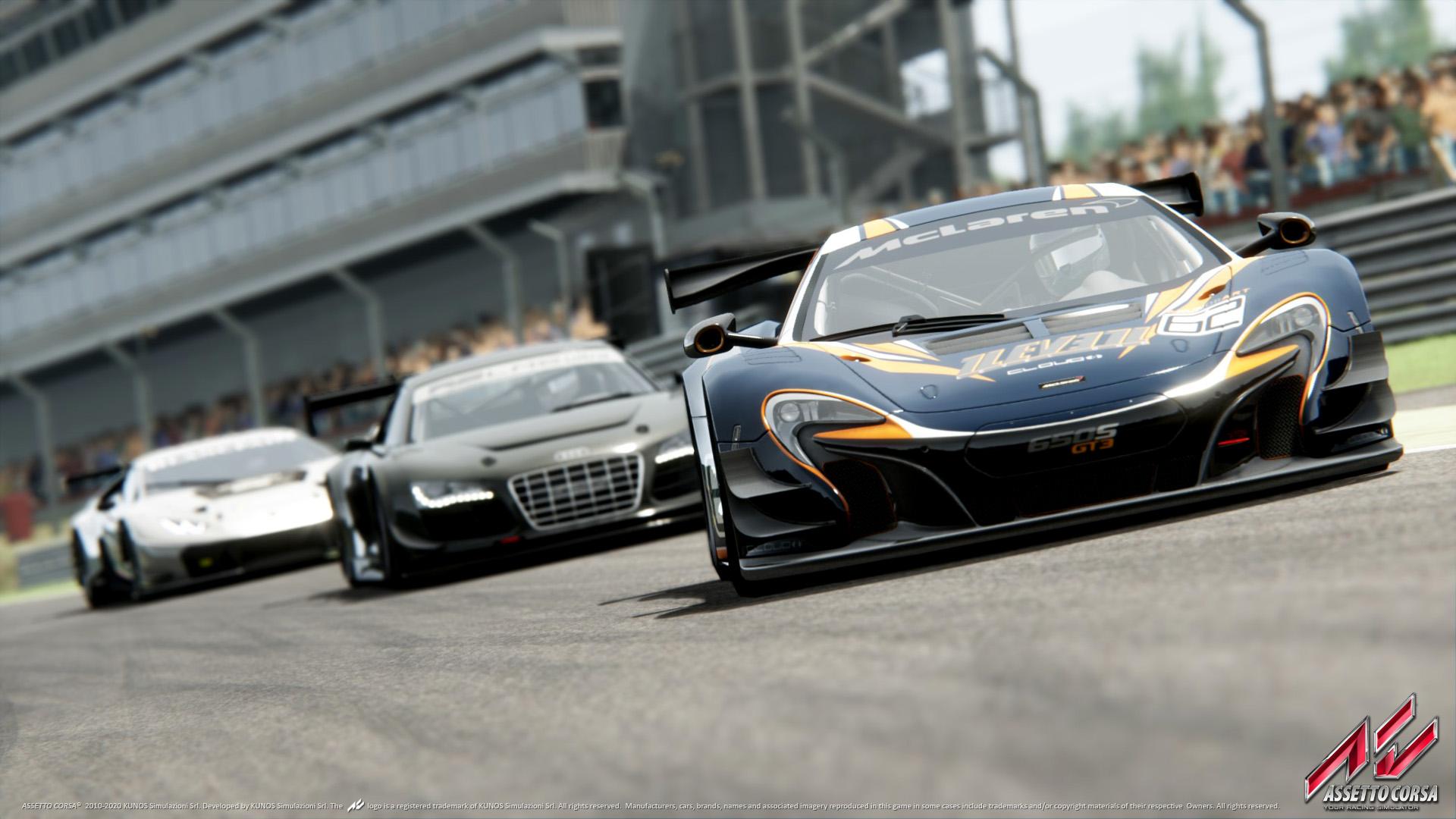 Assetto Corsa console screenshot, Audi R8, McLaren P1
