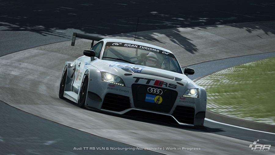 raceroom racing experience audi tt vln race car nurburgring nordschleife