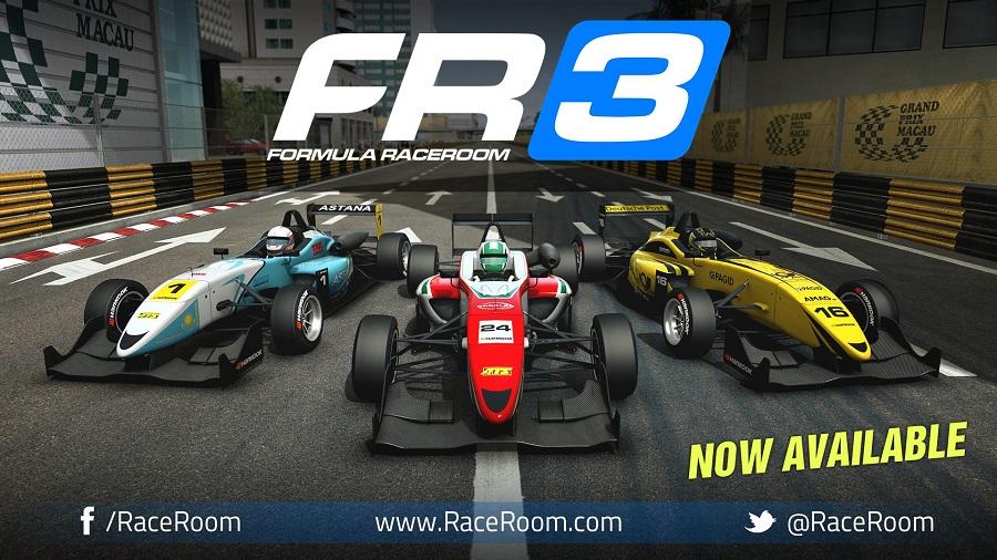 raceroom racing experience formula raceroom 3