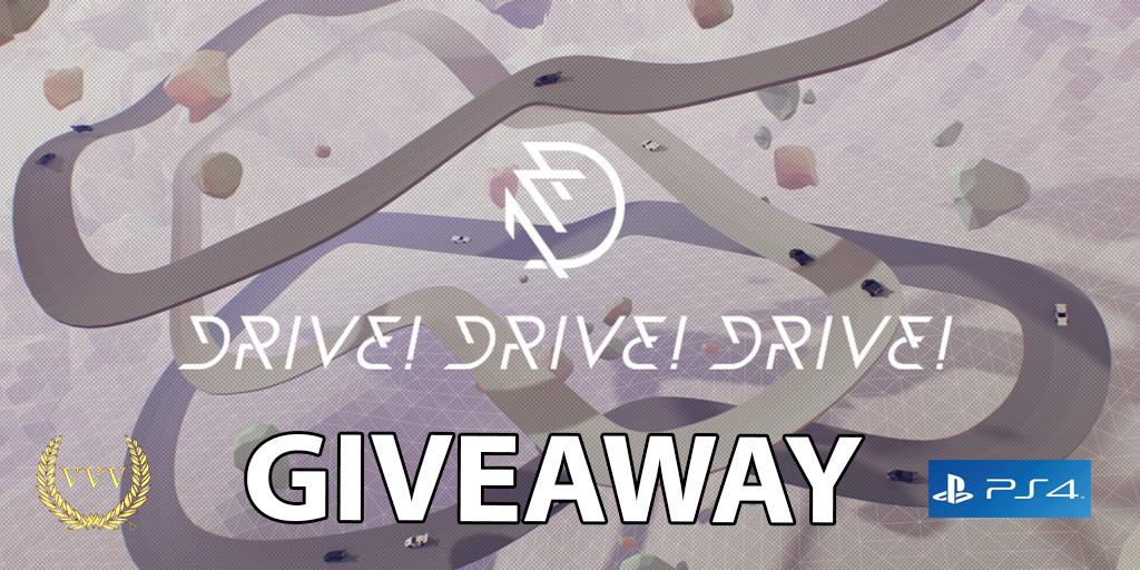 Drive!Drive!Drive! PS4 giveaway