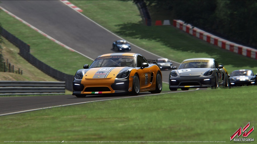 Assetto corsa porsche race car