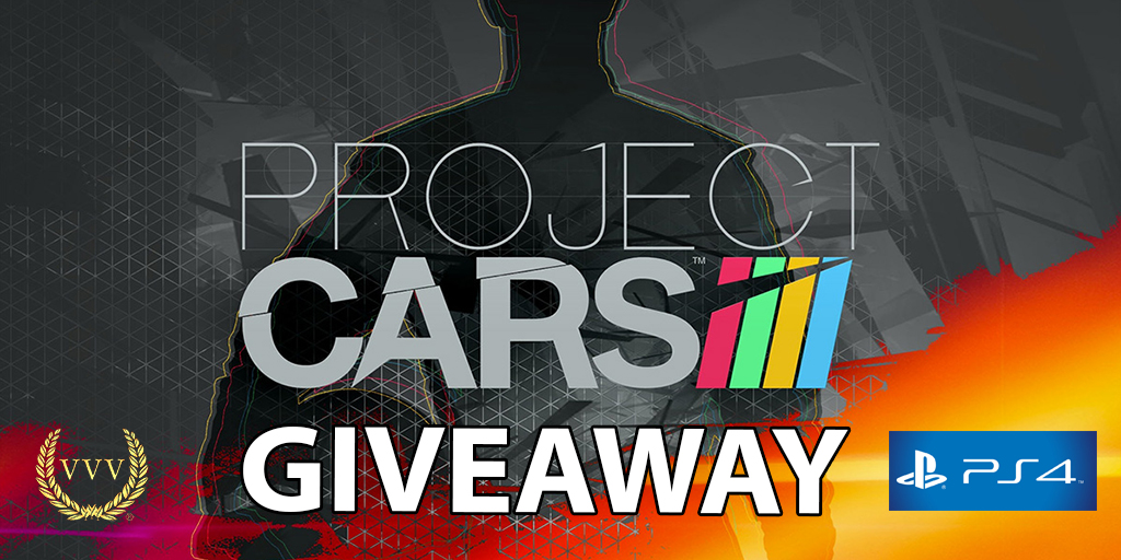 Project CARS PS4 giveaway