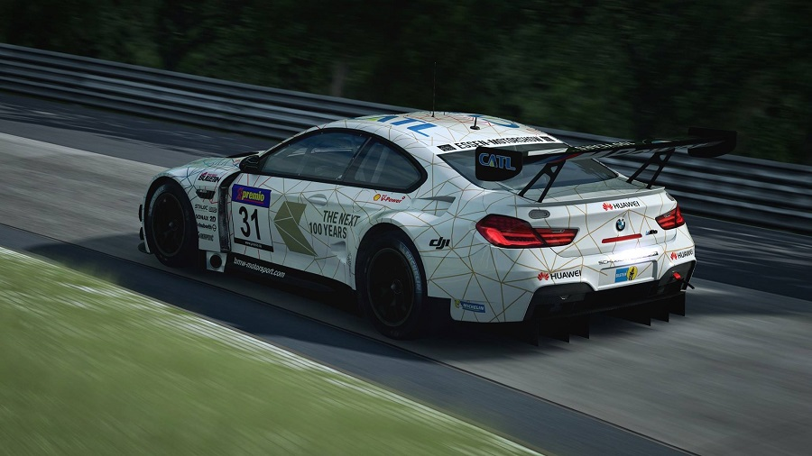 raceroom racing experience r3e bmw m6 gt3 nurbugring nordschleife