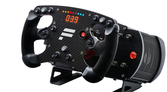 fanatec ClubSport steering wheel Formula Carbon