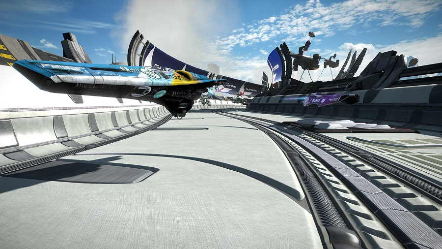 wipeout omega collection feisar ship remastered