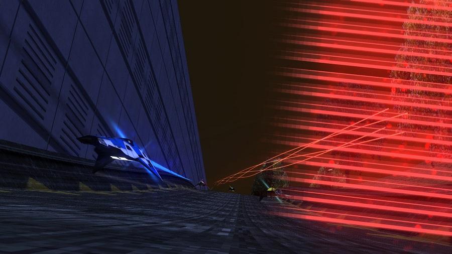 ballisitc ng wipeout futuristic racing anti gravity